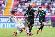 Juan Otero, Jesús Ocejo y Diego Valdés son los encargados de anotar los primeros tres goles del Apertura 2021 en la goleada de Santos 0-3 sobre Necaxa.