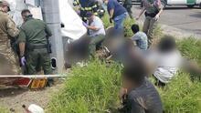 Mueren 10 inmigrantes y 20 resultan heridos tras un accidente cerca de la frontera en Texas