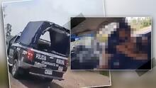 (Video) Cachan a dos policías teniendo relaciones dentro de una patrulla en México