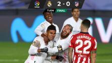 El Madrid aprieta la tabla en España tras vencer 2-0 al Atlético