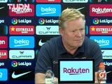 """Ronald Koeman reconoce que """"hay nombres"""" para sustituirlo en Barcelona"""