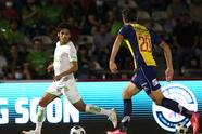 La solitaria anotación de Diego Rolán desde los once pasos le la la victoria a los fronterizos 1-0 sobre los potosinos.