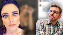 """Eugenio Derbez y Jaime Camil frenan a Aislinn por la publicación de """"imágenes indecentes"""""""