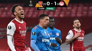 Arsenal clasificó a Cuartos a pesar de caer ante el Olympiakos