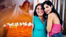 Tras recuperarse, Alejandra Espinoza tiene una nueva alegría: festejar el cumpleaños de su madre