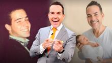 De eterno soltero a ser el papá de baby León: así ha cambiado Carlos Calderón desde sus inicios en la televisión
