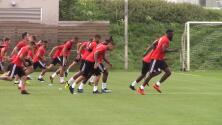 Toronto completa primer entrenamiento previo al duelo frente a Tigres por la Campeones Cup