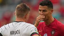 Toni Kroos contó lo que habló con CR7 tras el Alemania-Portugal