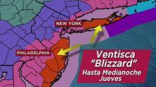 Condiciones de ventisca para áreas de Long Island y Nueva Jersey por el sistema invernal que se avecina