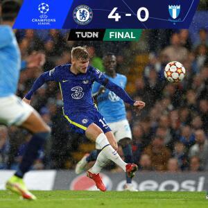 Resumen | Con doblete de Jorginho, Chelsea aplastó al Mälmo