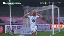 ¡Pumas de ensueño! Cabezazo letal y 'Cocoliso' González hace el 1-0