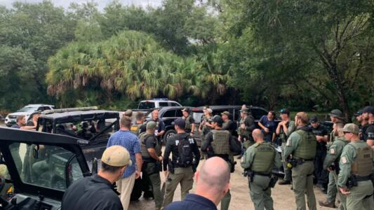 Buscan a Brian Laundrie en una reserva natural de 24,565 acres de Sarasota, Florida