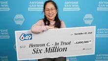 Un grupo de trabajadores de un hospital se gana $6 millones en la lotería de Canadá
