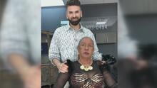 Fefita La Grande se quita su peluca rubia ante las cámaras para un cambio de imagen