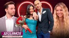 """Danay y José tienen boda y bebé en puerta (2x1), Fabricio es el """"arrepentido"""" en Seguimos Enamorándonos"""
