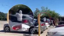 Revelan los primeros videos del tiroteo que ocurrió La Fiesta de Jalisco, cerca de la escuela de John Jay Bell