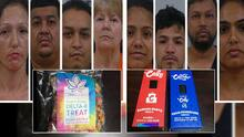 Venden dulces y cigarrillos electrónicos con THC a menores de edad y terminan arrestados