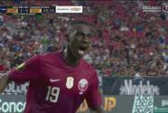 ¡Celebra la afición! Almoez Ali manda el 3-0 al marcador de penal