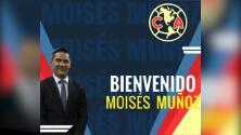 "Moi Muñoz se 'autonombra' DT del América: ""Gracias por la oportunidad"""