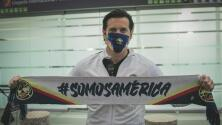 Santiago Solari ya está en México para dirigir al América