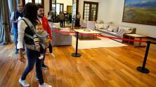 Los Pinos es ahora un museo: los mexicanos ya pueden visitar la casa de los presidentes