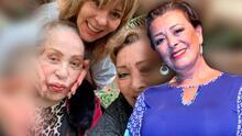 """""""Mi mamá está perfecta"""": Sylvia Pasquel desmiente que Silvia Pinal sufra una delicada condición en su corazón"""