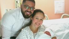Melanie, la primera bebé nacida en el 2017 en la ciudad de Nueva York