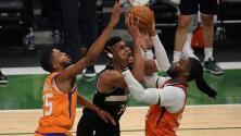 Giannis y Bucks se imponen a Suns y son campeones de la NBA