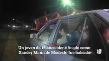 Alguacil de Stanislaus publica imágenes del tiroteo mortal donde falleció joven de Modesto