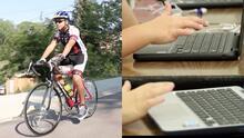 Joven hispano de Utah recorre 110 millas en bicicleta para darle computadoras a su escuela