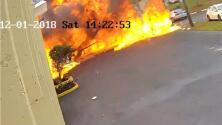 """""""Tenemos fuego en el motor izquierdo"""": el mensaje del piloto de la avioneta estrellada en Florida"""