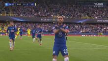 ¡Ya era mucha presión! Hakim Ziyech marca el 1-0 ante el Villarreal