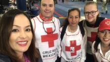 Treinta voluntarios de la Cruz Roja Mexicana llegan a Houston para ayudar con las tareas de Harvey