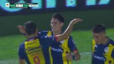 ¡GOL!  anota para Atlético San Luis. Facundo Waller