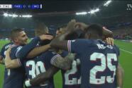 ¡Tremendo baile! Mbappé desborda, Neymar abanica y Gueye pone el 1-0