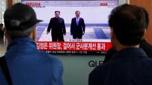 Video: Kim Jong Un cruza a pie la frontera para reunirse con su par surcoreano
