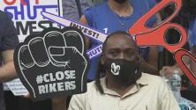Protestas en Nueva York para pedir cambios en la cárcel de Rikers Island por las condiciones que viven los reos