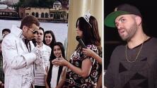 Nacho recordó cómo le pidió matrimonio a su esposa en vivo en Despierta América