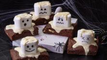 Brownies de fantastas perfectos para Halloween