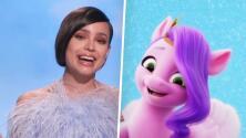 Sofía Carson dice que su personaje en 'My Little Pony: A New Generation', fue creado pensando en ella