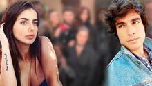 Michelle Renaud y Danilo Carrera posan juntos dos días después de anunciar su separación