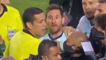 Messi y Marcelo Moreno protagonizan trifulca