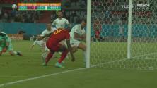 ¿Lukaku falló eso? Perdona a Italia en el área chica
