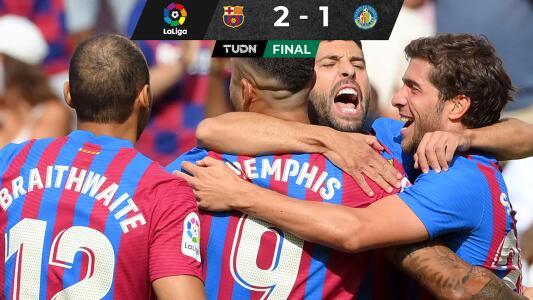 JJ Macías nada pudo hacer para evitar derrota del Getafe ante Barcelona
