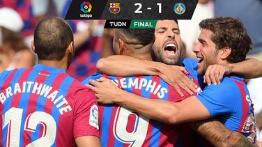 Sin convencer, el Barcelona vence al Getafe de JJ Macías