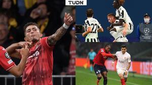 Villarreal golea en Suiza y Juventus sigue con paso perfecto