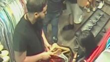 En video: Dos parejas roban de una tienda más de 1,000 dólares en mercancía