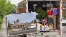 Familia latina compra casa por primera vez y al llegar encuentran a una madre soltera viviendo en ella