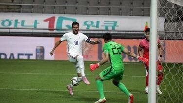 Francia derrotó a Corea con André-Pierre Gignac como capitán