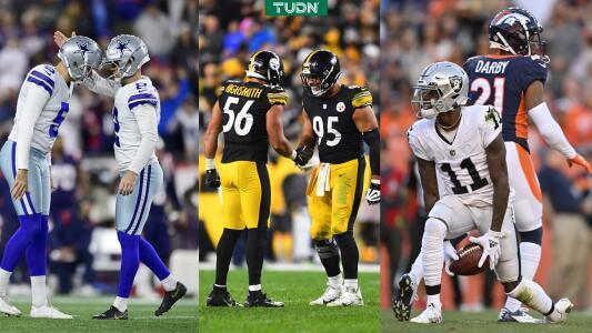 Steelers y Cowboys tuvieron final cardiaco; Raiders ganaron